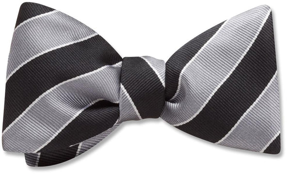 Scholastic Black/Silver - bow ties