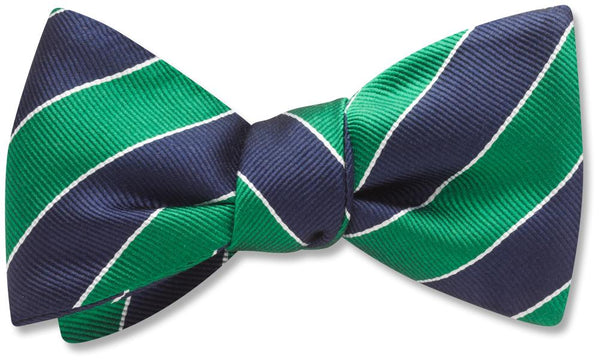 Scholastic Green/Blue - bow ties