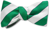 Scholastic Green/White - bow ties