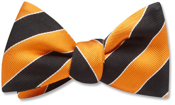 Scholastic Orange/Black - bow ties