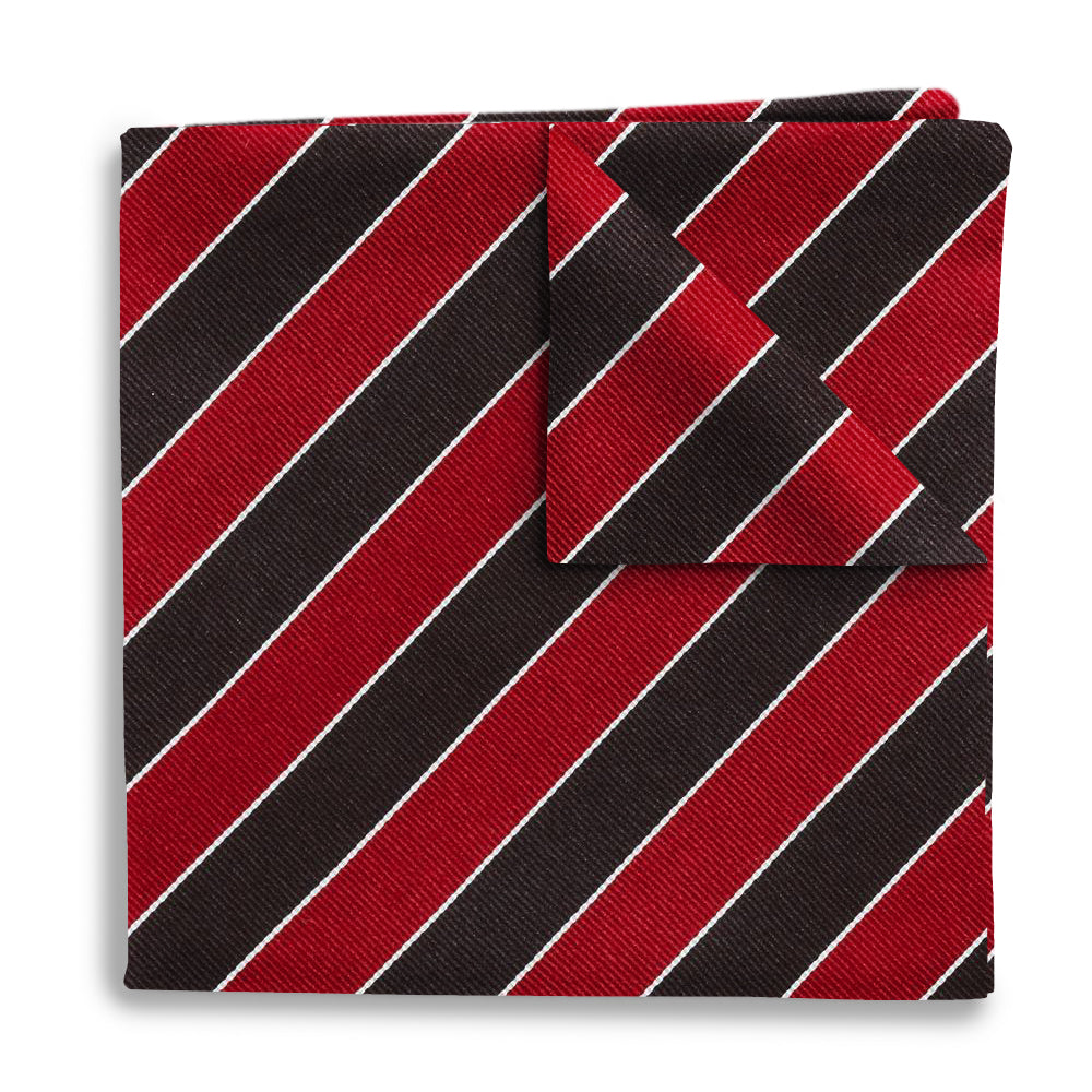 Scholastic Red/Black - Pocket Squares