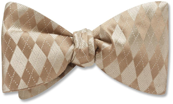 Somerled Taupe - bow ties