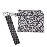 Snow Leopard Mask Purse Small