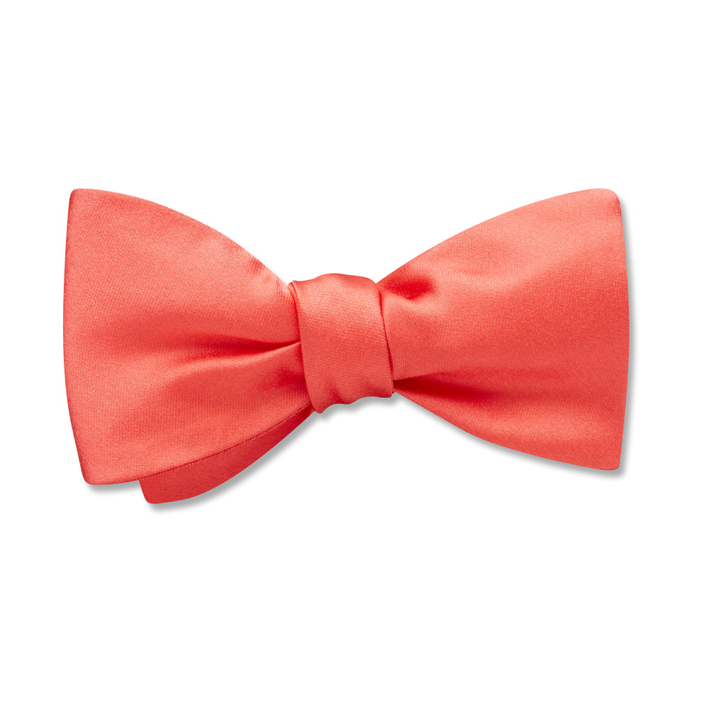 Somerville Coral - Kids' Bow Ties