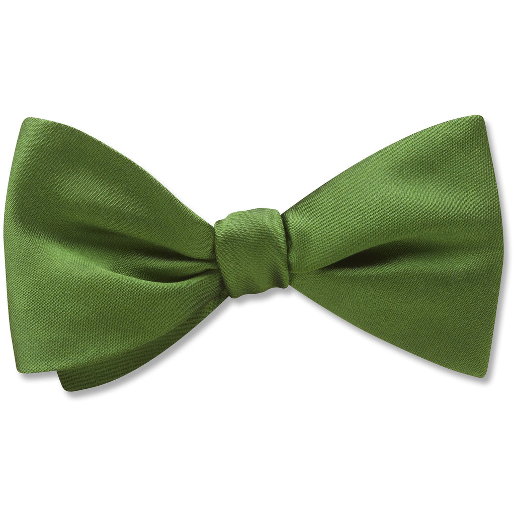 Somerville Olive - Kids' Bow Ties