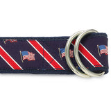 Stars & Stripes - D-Ring Belts