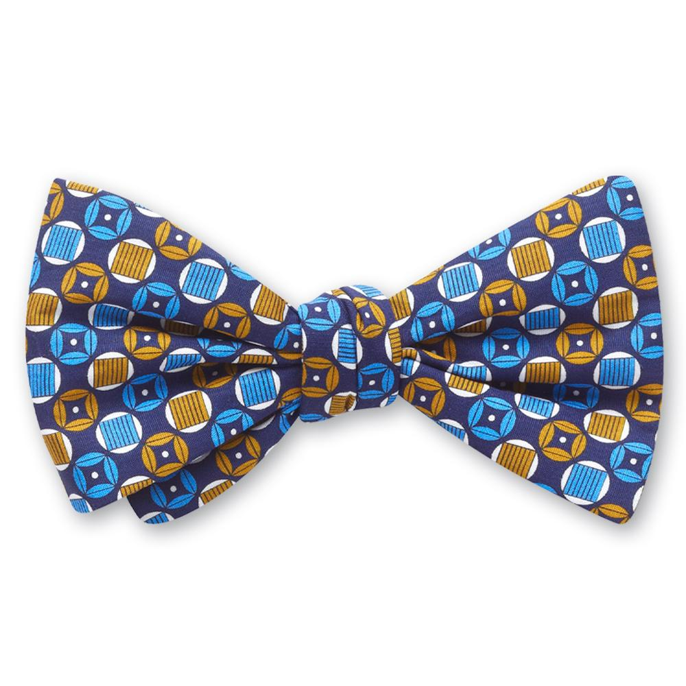 Turngate Blue bow ties