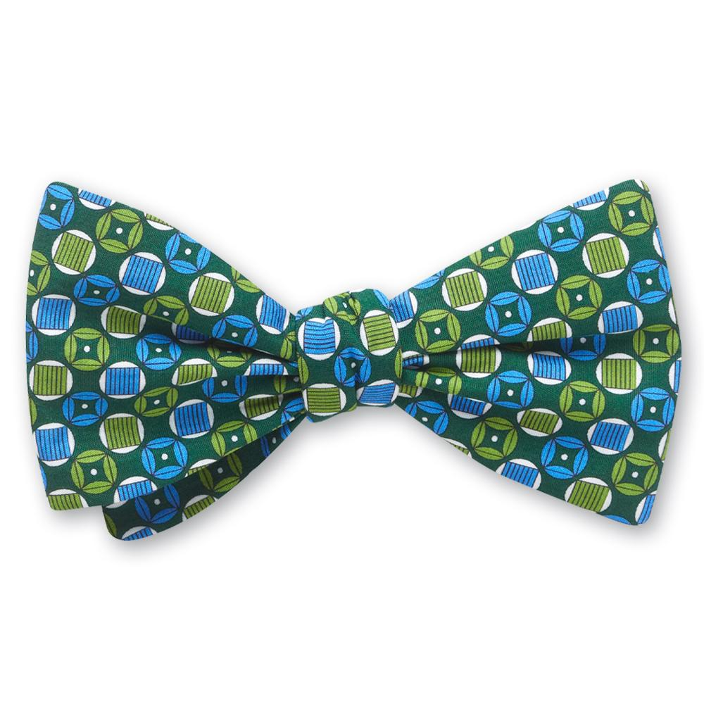 Turngate Green bow ties