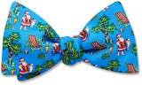 Tropical Santa - bow ties