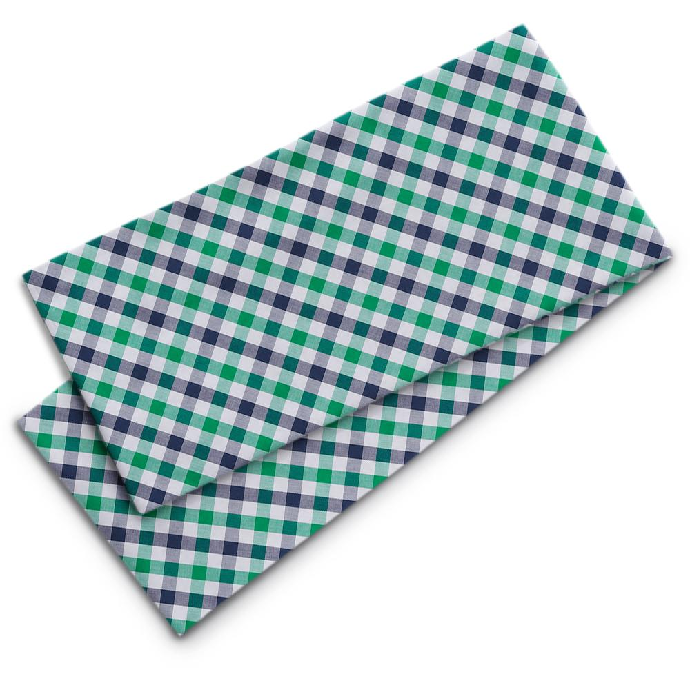 Visage Plaid Green/Navy Beaufinity Scarves