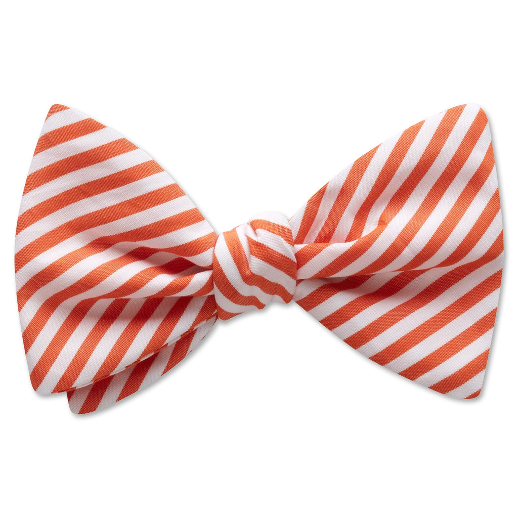 Visage Stripe Orange - bow ties