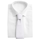 White Charmeuse - Neckties