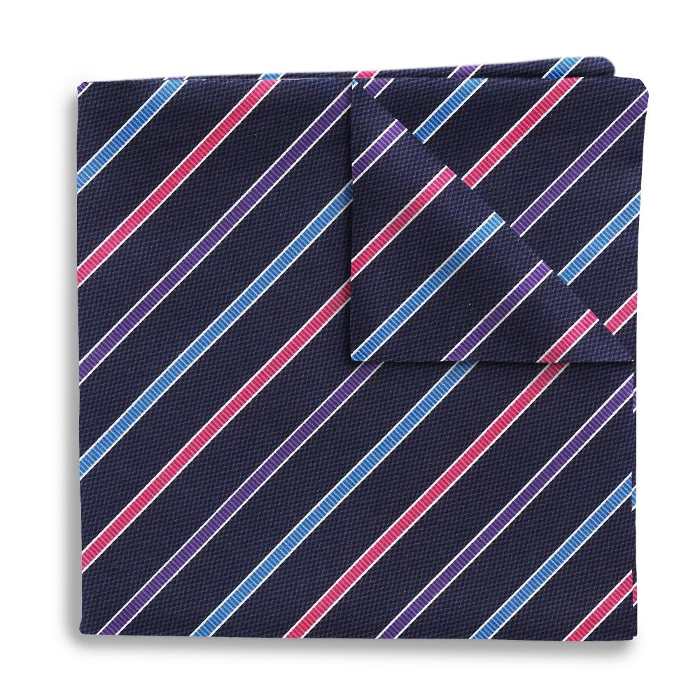 Winter Night Trail Pocket Squares