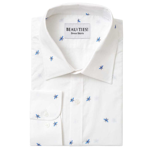 Blue Bee Dress Shirt