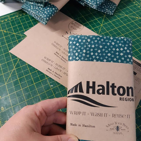 Region of Halton recycling facility visitor gifts.