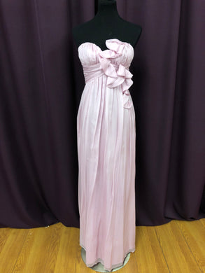 A.B.S. Size 8 Pink Formal Dress