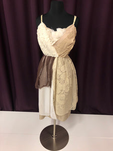ASA Size 4 Brown Lace Formal Dress