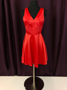 Adriana Alier Size 4 Red Formal Dress