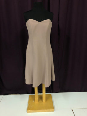 After Dark Size 10 Brown Formal Dress