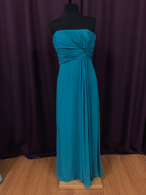 After Six Size 10 Blue Rushing  Formal Dress