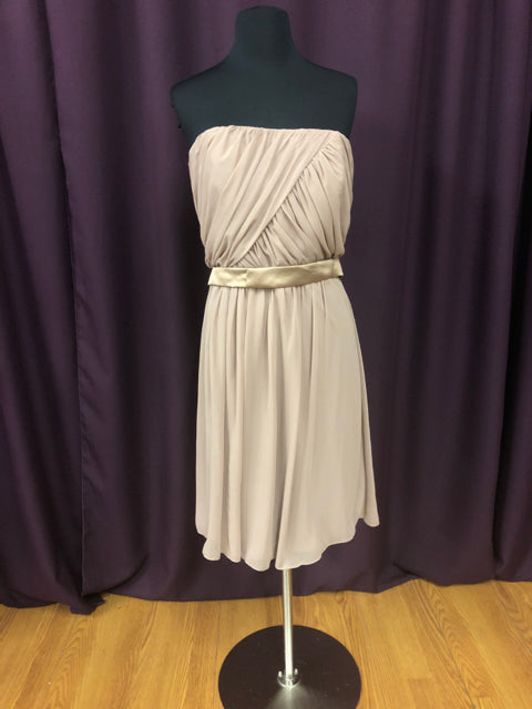 After Six Size 10 Brown Short  Belt Formal Dress
