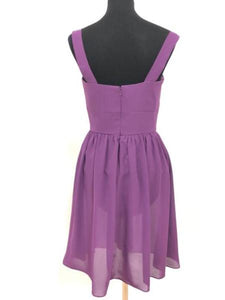 After Six Size 10 Purple Formal Dress