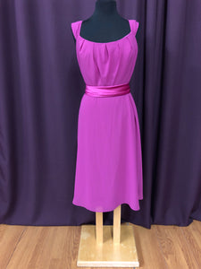 After Six Size 12 Pink Short  Formal Dress