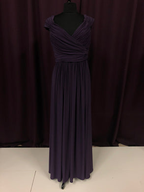After Six Size 12 Purple Formal Dress