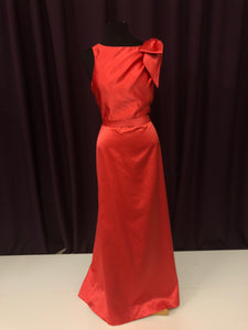 After Six Size 12 Red Belt  Bow Formal Dress
