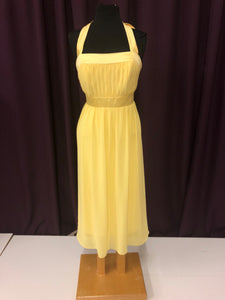 After Six Size 12 Yellow Formal Dress