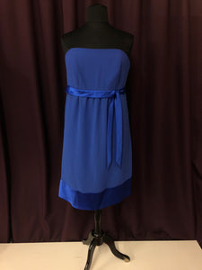 After Six Size 18 Blue Short  Formal Dress