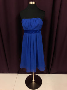 After Six Size 2 Blue Rushing  Short Formal Dress