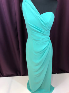 After Six Size 2 Green Formal Dress
