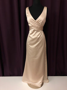 After Six Size 2 Tan Formal Dress
