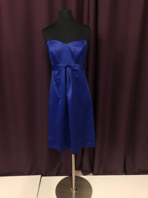 After Six Size 8 Blue Short  Formal Dress