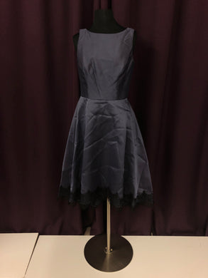 After Six Size 8 Gray Formal Dress