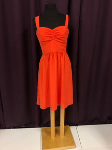 After Six Size 8 Orange Formal Dress