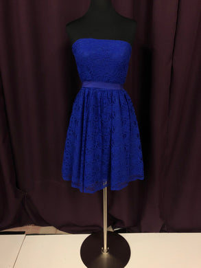 Aiden Mattox Size 6 Blue Lace NEW Formal Dress