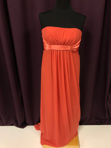 Alexia Size 12 Orange Formal Dress
