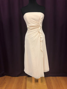 Alexia Size 12 Tan Formal Dress
