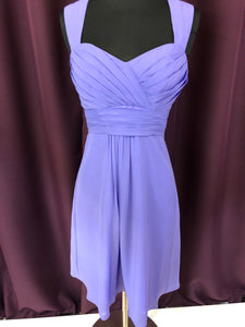 Alexia Size 2 Purple Formal Dress