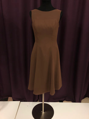Alfred Angelo Size 10 Brown Formal Dress