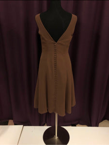 Alfred Angelo Size 10 Brown NEW Formal Dress