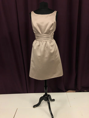 Alfred Angelo Size 10 Brown Rushing  Short Formal Dress