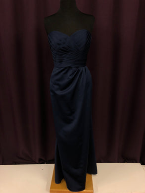 Alfred Angelo Size 10 Navy Blue NEW Formal Dress