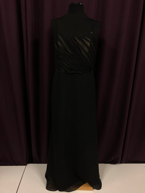 Alfred Angelo Size 12 Black Formal Dress