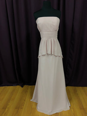 Alfred Angelo Size 12 Pink Strapless Formal Dress