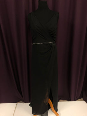 Alfred Angelo Size 14 Black NEW Formal Dress