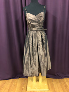 Alfred Angelo Size 14 Brown Short  Formal Dress