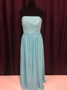Alfred Angelo Size 16 Blue Formal Dress